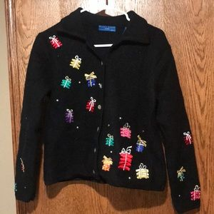 Woman's Christmas sweater